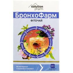 Бронхо Фарм фиточай фильтр-пак. 1,5г №20 Solution Pharm