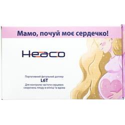 Портативный фетальный допплер с функцией автоматического «нахождения» сердцебиения плода L6T Heaco