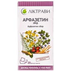 Арфазетин сбор фильтр-пакет 1,5г №20