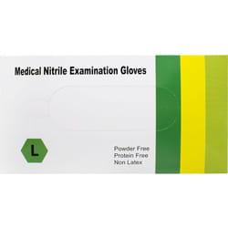 Перчатки медицинские смотровые нестерильные нитриловые неприпудренные размер L/8 1 пара