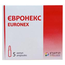 Евронекс р-р д/ин. 100мг/мл амп. 5мл №5