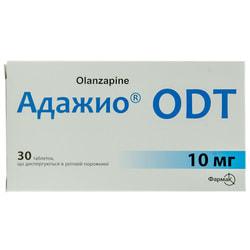 Адажио ODT табл. дисперг. 10мг №30