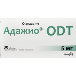 Адажио ODT табл. дисперг. 5мг №30