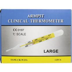 Термометр ртутный медицинский стеклянный 1 шт