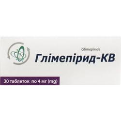 Глимепирид-КВ табл. 4мг №30