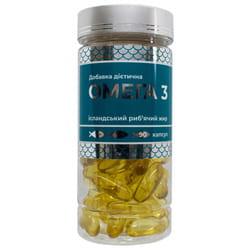 Омега-3 капсулы 1000 мг комплекс незаменимых полиненасыщенных жирных кислот для профилактики сердечно-сосудистых заболеваний 90 шт