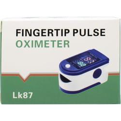 Пульсоксиметр пальчиковый LК87 1 шт