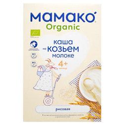 Каша молочная детская МАМАКО Органическая Рисовая на козьем молоке для детей с 4-х месяцев 200 г