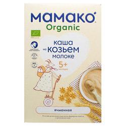 Каша молочная детская МАМАКО Органическая Ячменная на козьем молоке для детей с 5-х месяцев 200 г