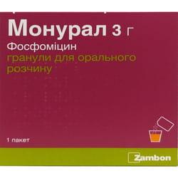 Монурал гран. д/оральн. р-ра пакет 3г №1