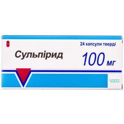 Сульпирид капс.100мг №24