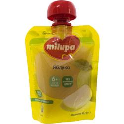 Пюре фруктовое детское Нутриция Milupa (Милупа) Яблоко с 6-ти месяцев 80 г