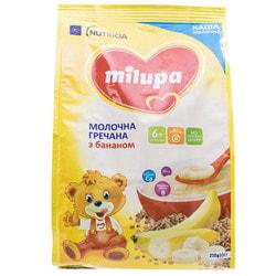 Каша молочная детская Нутриция Milupa (Милупа) Гречневая с бананом с 6-ти месяцев 210 г