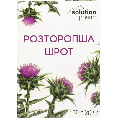 Расторопша шрот 100 г Solution Pharm