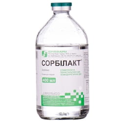 Сорбилакт р-р д/инф. бут. 400мл