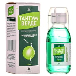 Тантум Верде р-р д/ротов. пол. фл. 120мл