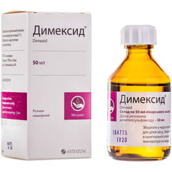 Димексид р-р накож. фл. 50мл