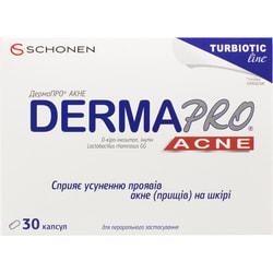 Дермапро Акне капсулы для улучшения состояния кожи 30 шт