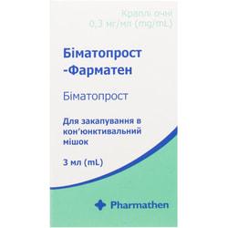 Биматопрост-фарматен кап. глаз. 0,3мг/мл фл. 3мл
