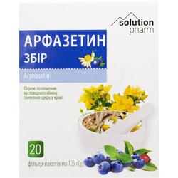 Арфазетин сбор фильтр-пакет 1,5г №20 Solution Pharm
