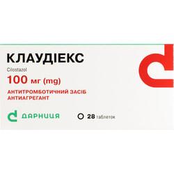 Клаудиекс табл. 100мг №28
