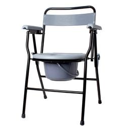 Кресло-туалет с санитарным оснащением нерегулируемый по высоте складной KJT710B RD-CARE-T01