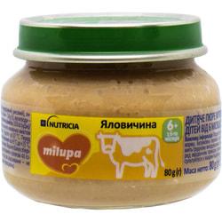 Пюре мясное детское Нутриция Milupa (Милупа) Говядина с 6-ти месяцев 80 г