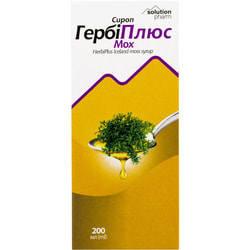 ГербиПлюс сироп Исланский мох фл. 200мл Solution Pharm