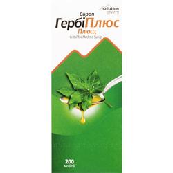 ГербиПлюс сироп Плющ фл. 200мл Solution Pharm