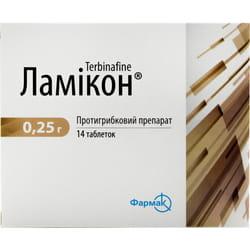 Ламикон табл. 0,25г №14