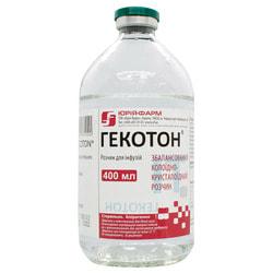 Гекотон р-р д/инф. бут. 400мл