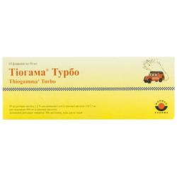 Тиогамма Турбо р-р д/инф. 1.2% фл. 50мл №10