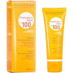 Крем для обличчя BIODERMA (Біодерма) Фотодерм Макс сонцезахисний SPF 100 для сухої і нормальної шкіри 40 мл