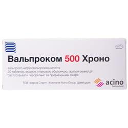 Вальпроком Хроно табл. п/о 500мг №30