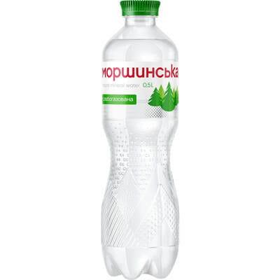 Вода минеральная Моршинская слабогазированная 0,5 л