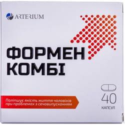 Капсулы для профилактики и лечения заболеваний предстательной железы Формен комби 4 блистера по 10 шт