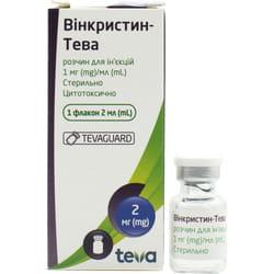 Винкристин-Тева р-р д/ин. 1мг/мл фл. 2мл №1