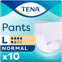 Подгузники-трусы для взрослых TENA (Тена) Pants Normal Large (Нормал ладж) размер 3 10 шт