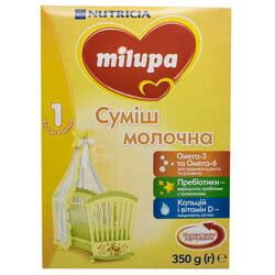 Смесь молочная детская Нутриция Milupa (Милупа) 1 от 0 до 6 месяцев 350 г