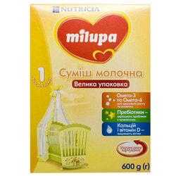 Смесь молочная детская Нутриция Milupa (Милупа) 1 от 0 до 6 месяцев 600 г