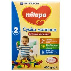 Смесь молочная детская Нутриция Milupa (Милупа) 2 от 6 до 12 месяцев 600 г