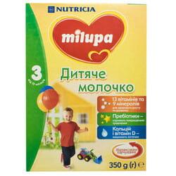 Смесь молочная детская Нутриция Milupa (Милупа) 3 от 12 месяцев 350 г