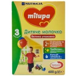 Смесь молочная детская Нутриция Milupa (Милупа) 3 Детское молочко от 12 месяцев 600 г