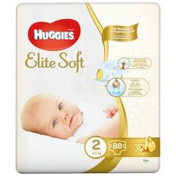 Подгузники для детей HUGGIES (Хаггис) Elite Soft Mega (Элит софт Мега) 2 от 4 до 6 кг 88 шт