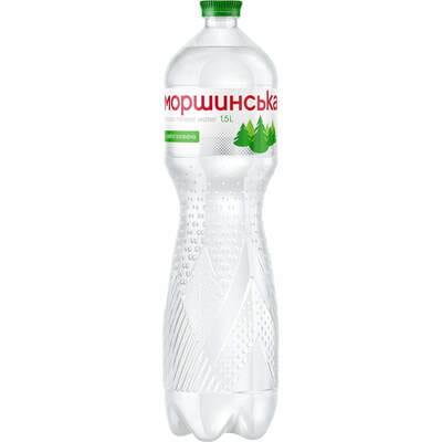 Вода минеральная Моршинская слабогазированная 1,5 л