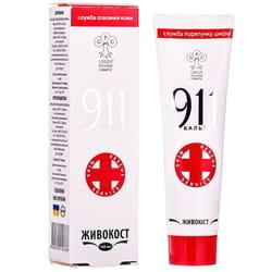 Бальзам 911 Живокост при болях в суставах и мышцах 100 мл