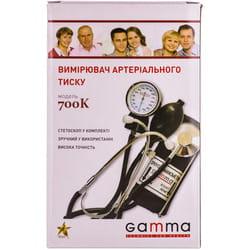 Измеритель (тонометр) артериального давления GAMMA (Гамма) модель М700 К стандарт механический