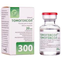 Томогексол р-р д/ин. 300мг йода/мл фл. 20мл №1