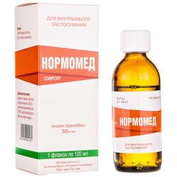 Нормомед сироп 50мг/мл фл. 120мл