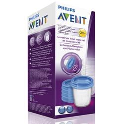 Контейнеры для хранения молока AVENT (Авент) SCF619/05 180 мл 5 шт